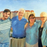 The Huprich Family, 38x42